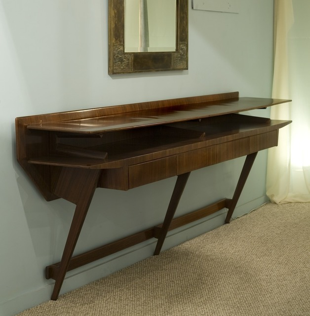 , 'Wall Mounted Rosewood Console Table,' ca. 1950, Donzella LTD