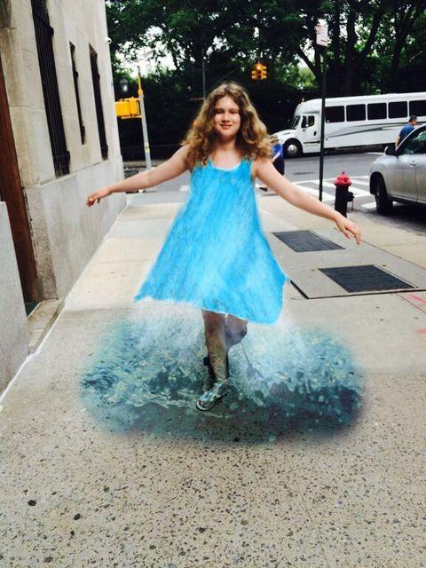 , 'Waterfall Dress,' 2015, Ricco/Maresca Gallery