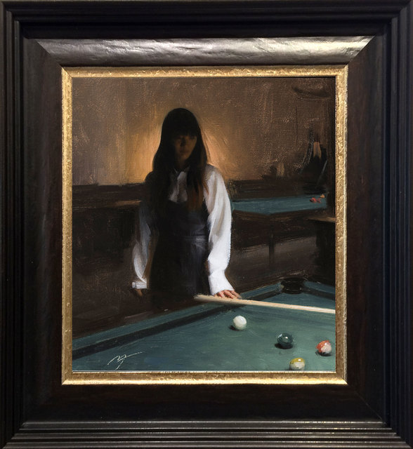 , 'Pool Player,' 2017, ARCADIA CONTEMPORARY
