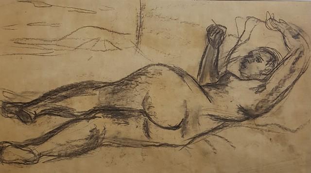 , 'Nu Allongé ,' ca. 1930, Galerie Marie-Robin