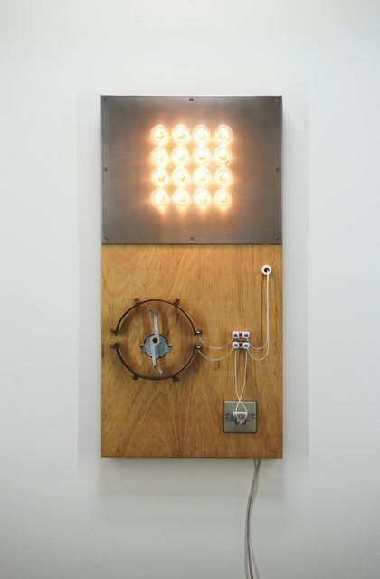 Satoru Tamura, 'Point of Contact for 16 Incandescent Lamps', 2020, Mixed Media, Mixed Media, MAKI
