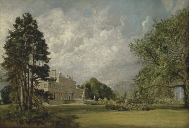 John Constable, 'Malvern Hall, Warwickshire', 1820 to 1821, Yale Center for British Art