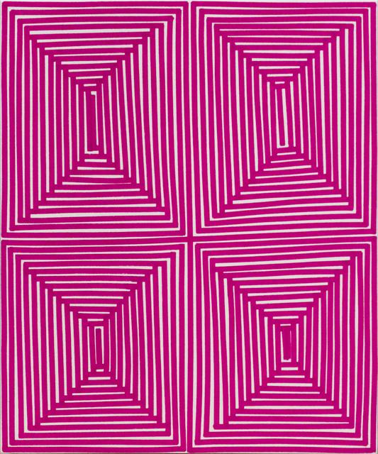 , 'Magenta Coffer (Geo),' 2014, Newzones