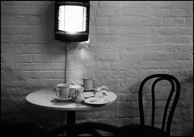 , 'Limelight coffee house and gallery in Greenwich Village. New York City, USA. ,' 1954, Magnum Photos