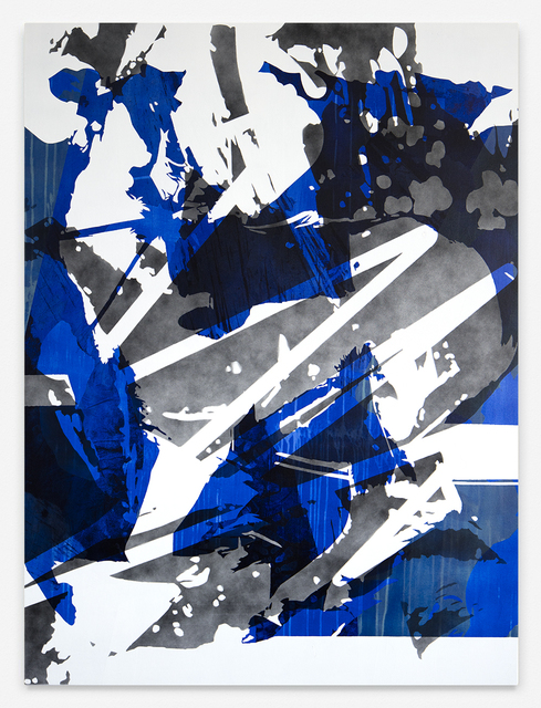 , 'How Blue,' 2016, Galerie SOON