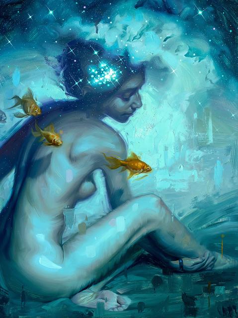 , 'Cosmic Ocean,' 2016, Abend Gallery