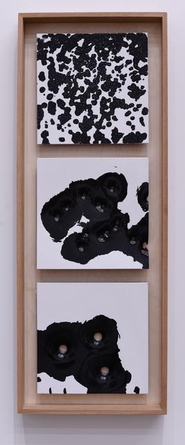 , 'Bird, Buck, Slug: White on Black #1,' 2017, Mugello Gallery
