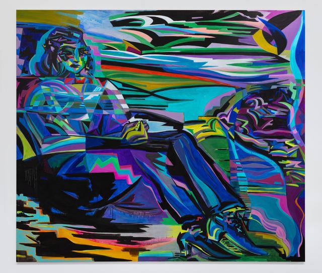 , 'Blue Succession,' 2019, Night Gallery