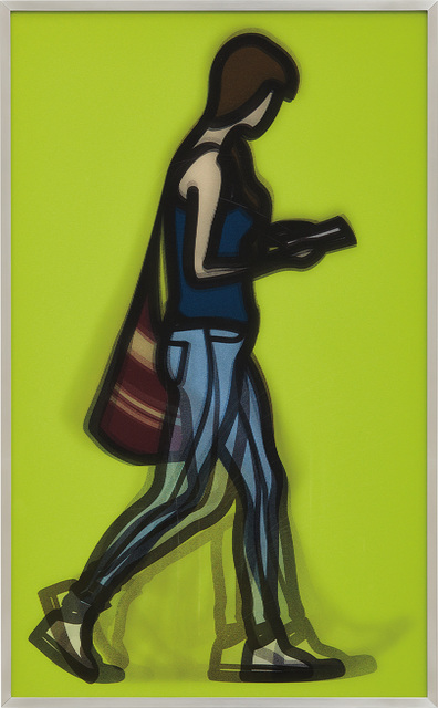 Julian Opie, 'Waitress, from Walking in London', 2014, Phillips