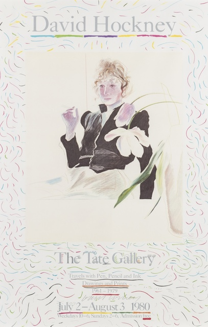David Hockney, 'Celia. Poster for The Tate Gallery', 1980, Forum Auctions
