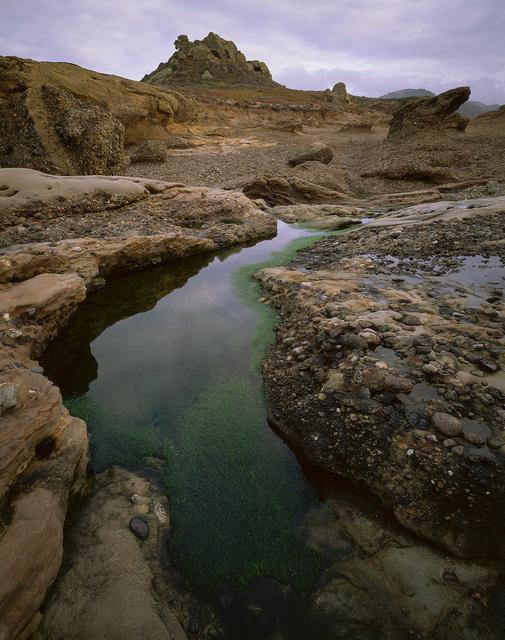 , 'Tide Pool, Cloud Reflections, Point Lobos (Framed),' 1998, Estrada Fine Art