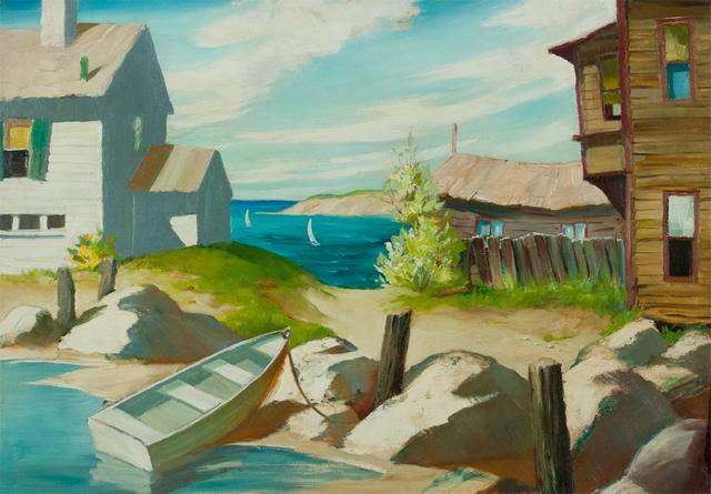 , 'Sunlit Bay,' , Questroyal Fine Art