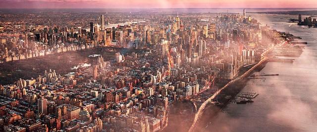 David Drebin, 'Fantasy Island, Manhattan, New York', 2016, Photography, Chromogenic Print, CHROMA GALLERY