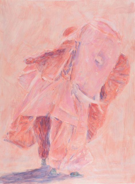 , 'Embuste (red elephant),' 2016, Taymour Grahne