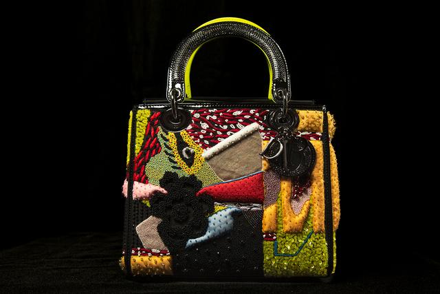 Mickalene Thomas, 'Mickalene Thomas Dior Lady Art #3', Fashion Design and Wearable Art, Aperture Foundation Benefit Auction