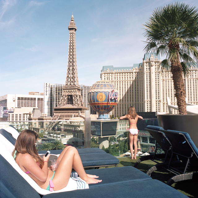, 'French Girls with Eiffel Tower, Las Vegas, Nevada,' 2014, Circuit Gallery