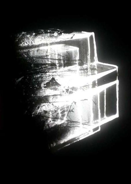 , 'Lichtzeichnung,' 1989, Galerie Hollenbach