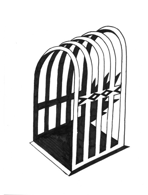 , 'Cage  fig. 2,' 2018, Deep Space Gallery