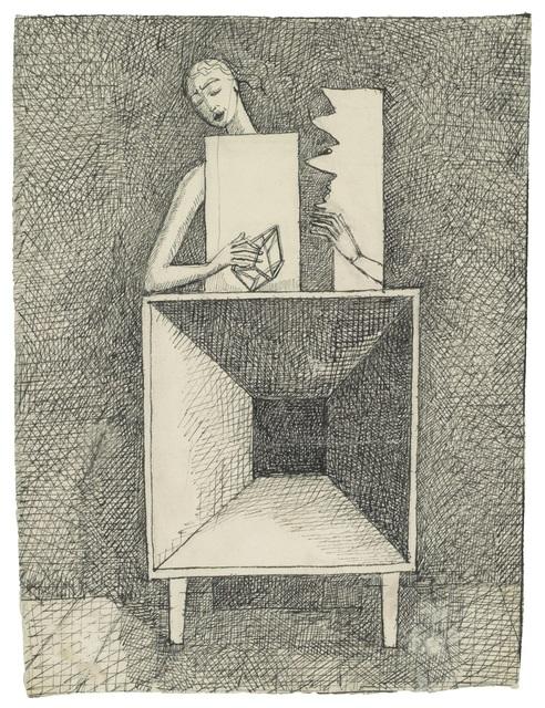 , 'Surrealist Composition (Composition surréaliste),' 1933, Guggenheim Museum