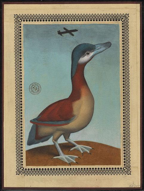 , 'Side Looking Duck Airplane,' 2017, Black Book Gallery