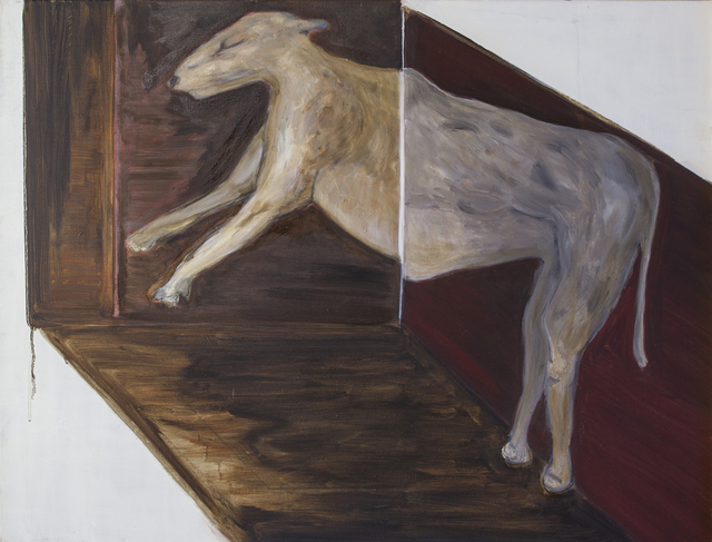 , 'Dog (lying with squares),' 2016, Galerie Bart