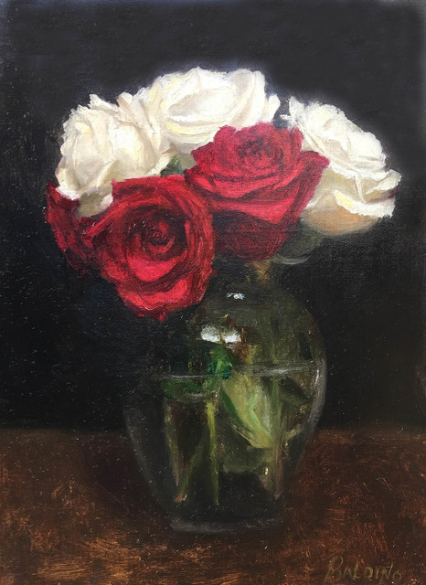 , 'Roses are Red, Also White,' 2018, The Galleries at Salmagundi