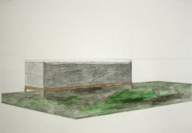 Gian Maria Tosatti, 'La mia parte nella Seconda Guerra Mondiale - studio.', 2014, Lia Rumma