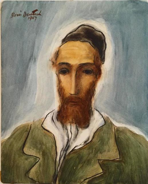 Boris Deutsch, 'Portrait of a Rabbi', 20th Century, Lions Gallery