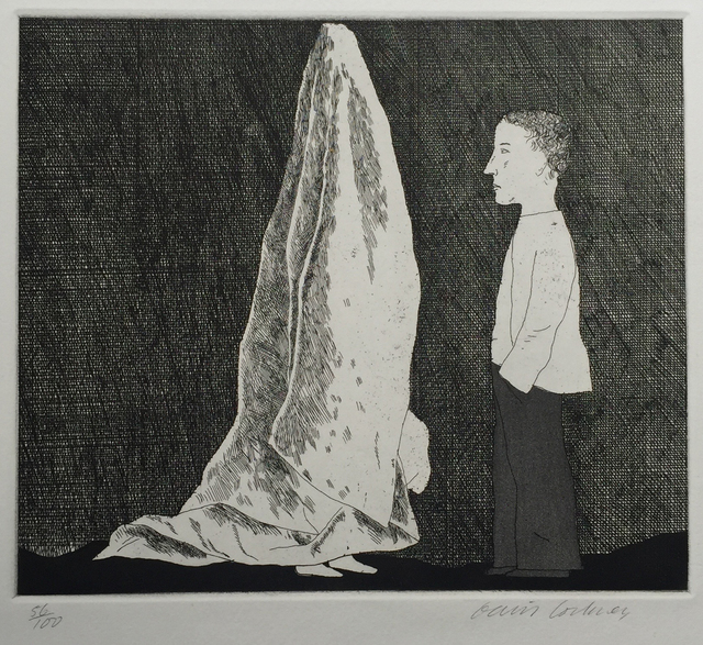 David Hockney, 'The Sexton Disguised as a Ghost', 1969, Sims Reed Gallery