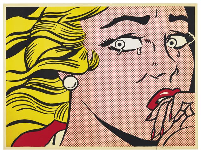 Roy Lichtenstein, 'Crying Girl', 1963, Christie's