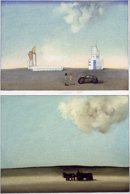 , 'Abidjan,' 1973, Pace Gallery