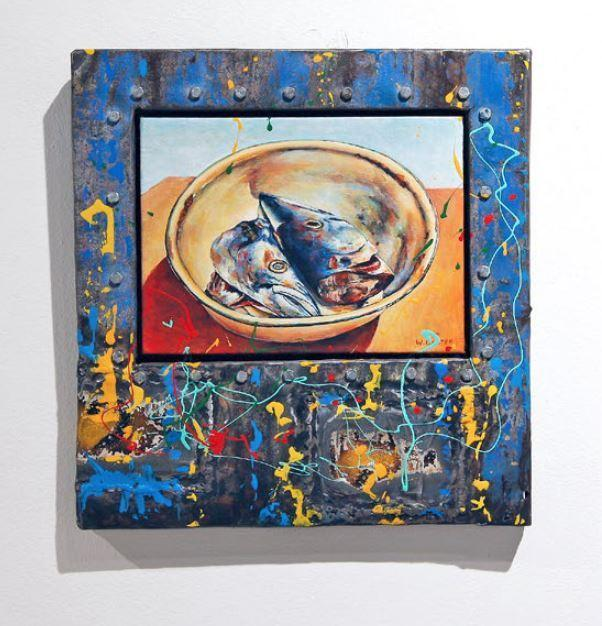 , 'Fish in Plate ,' , The Melrose Gallery