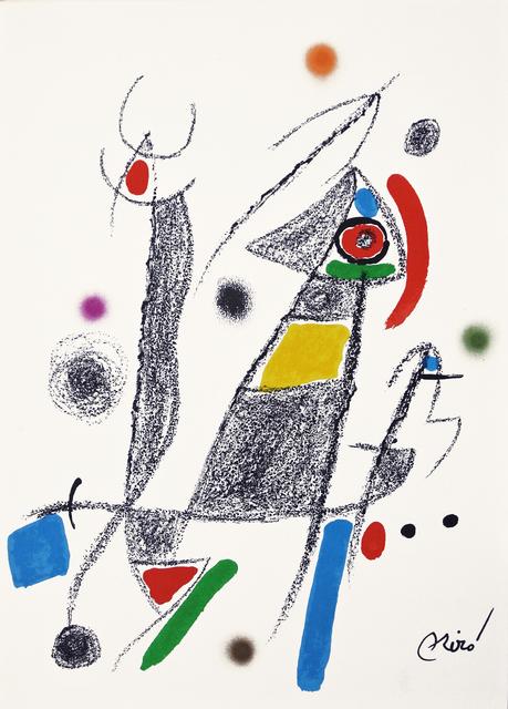 Joan Miró, 'Maravilla 6', 1975, Hans den Hollander Prints