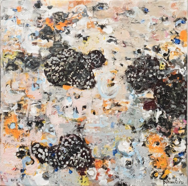 , 'Lichens on basalt - Surtsey,' 2017-2018, Gallerí Fold