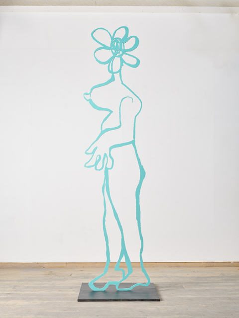 , 'Flower Woman Copper Blue,' 2018, Winston Wächter Fine Art