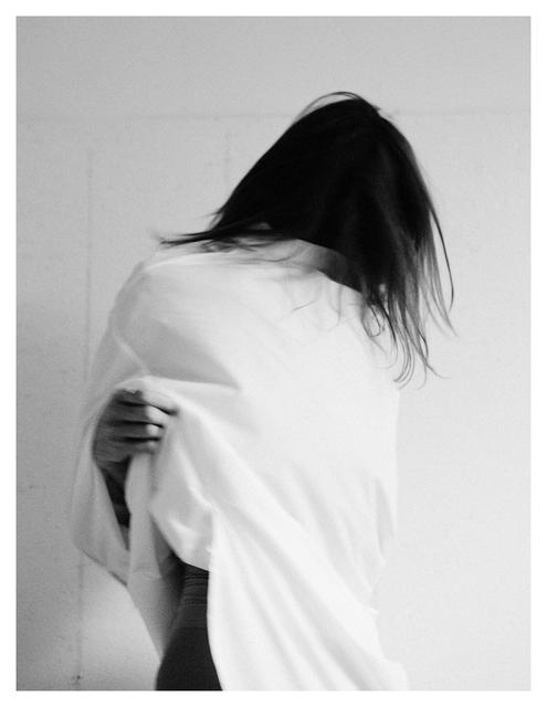 Maude Arsenault, 'Chantal retire sa robe - femme canevas', 2018, The Print Atelier