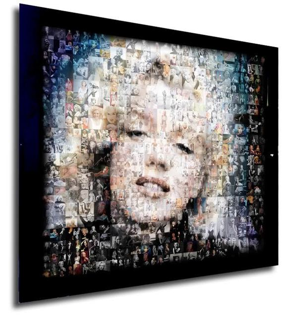 ", '""Marilyn in Blues"",' , The La Jolla Gallery"