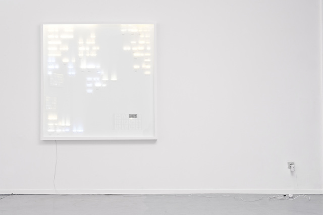 Humans Since 1982, 'Collection of Light, led 400', 2012, Victor Hunt Designart Dealer