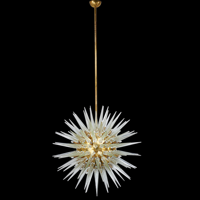 'Large Radiant-Style Chandelier, Italy', Second half of the 20th C., Rago/Wright