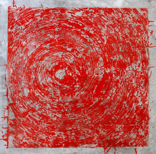 , 'Red Swirl,' 2015, Ani Molnár Gallery