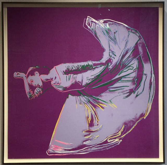 Andy Warhol, 'Letter To The World (The Kick) unique trial proof from the Martha Graham suite', 1986, Joseph Fine Art LONDON