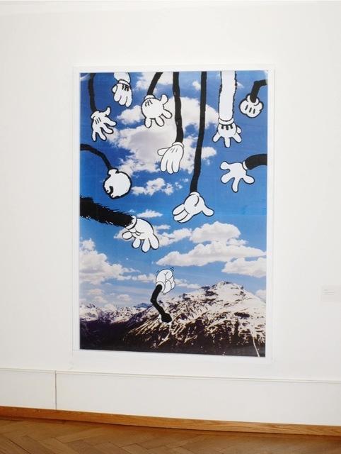 , 'Weniger Jugend, mehr Polizei,' 2011, Christophe Guye Galerie