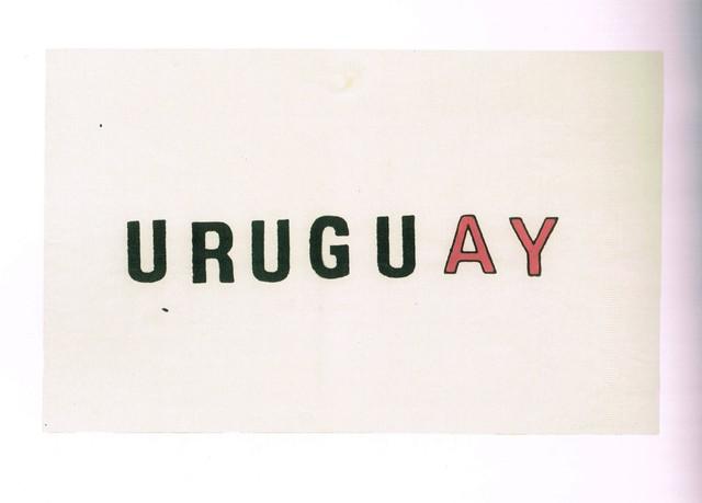 , 'Urugu(ay),' 1973, Galería del Paseo