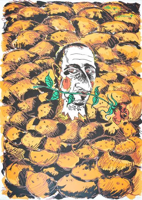 Jörg Immendorff, 'Alles was Ihr von mir bekommt 1995', 1990-2000, ARTEDIO
