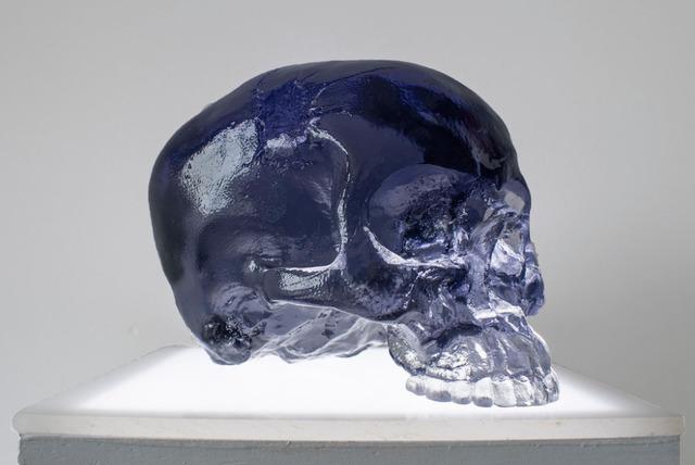 Sam Tufnell, 'Sam Tufnell, Black Half Skull', 2018, Oliver Cole Gallery