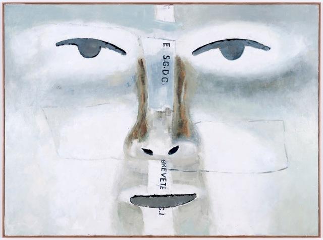 , 'Grand détail du masque retourné,' 2013, Galerie Peter Kilchmann