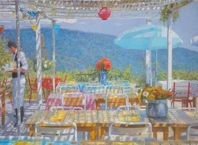 , 'Preparing Luncheon, Provence,' 2018, Catto Gallery