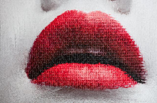 , 'Geisha(Geesha)Girl-2 Lips,' 2018, Galerie LeRoyer