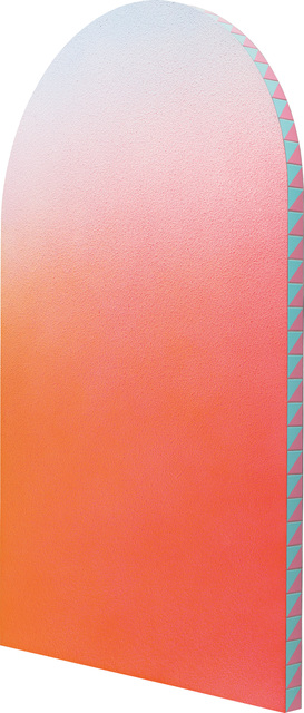 Alex Israel, 'Untitled (Flat)', 2013, Painting, Acrylic on stucco and ceramic tiles on aluminium frame, Phillips