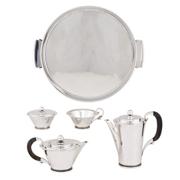 Georg Jensen Sterling Silver Tea & Coffee Service